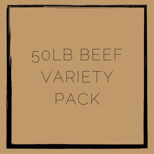 Schielke Farm 50lb Beef Variety Pack